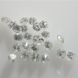 3mm RBC GH SI3 Clarity Lab Grown CVD Diamond