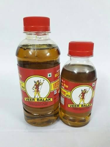 Red Kachchi Ghani Veer Balak Mustard Oil, Packaging Type: Plastic Bottle, Packaging Size: 1 litre