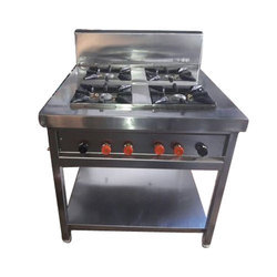 Stainless Steel 4 Burner continental Stove
