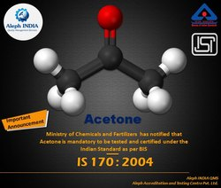 ISI Mark for Acetone