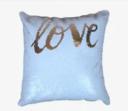 Square Golden Love Magic Cushions Sublimation Printable Blanks