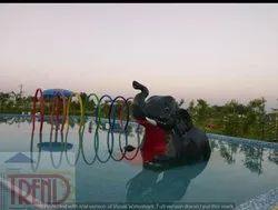 Kid Elephant Slide