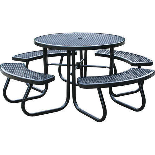 82 36 Inch Lenght X 30 25 Height 46 In Picnic Table With Built