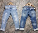 Mens Ripped Strechable Denim Jeans