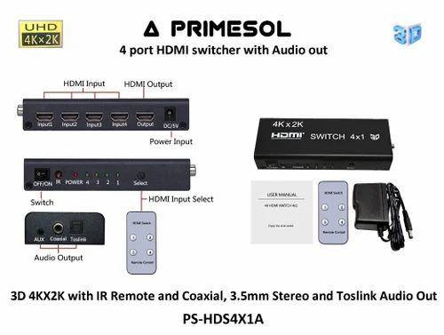 HDMI Splitters & Switchers - HDMI Splitter 2 0 Ver - 4k 60hz