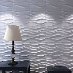 Color Coated 3D Wall Panel, For Walls
