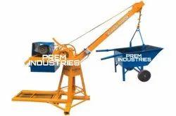 Bricks And Sand Lifting Machine