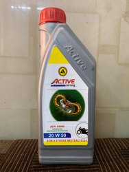 Active Lube Oil Bottle