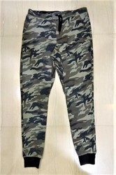 Loop Knit Mens Camouflage Joggers