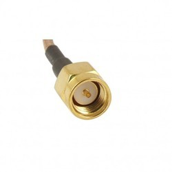 SMA Connector Male Straight For Rg316 Gold Plated