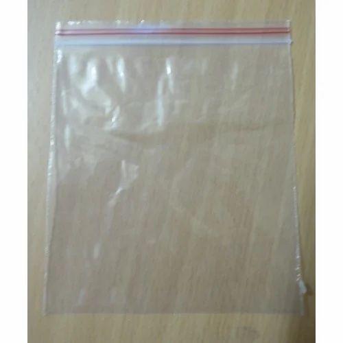 Zip Seal Lock Bag, Capacity: 1 Kg