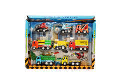 Qexclusive multi 8 Pc Truck Toy, for Personal