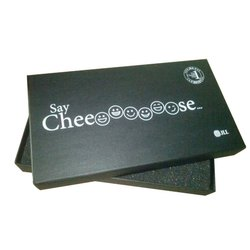 Black Printed Packaging Box