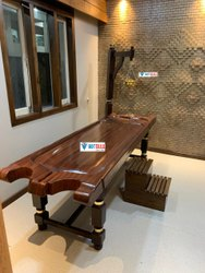 Wooden Stand Executive FRP Massage Table