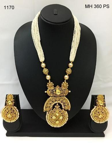 Reva copper pendant set with ad stone beads mala rs 1170 piece reva copper pendant set with ad stone beads mala aloadofball Gallery