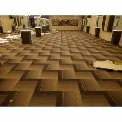 PVC Floor Carpet Tile for Flooring, Thickness: 8-9 mm