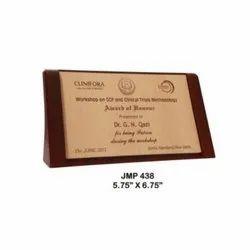 JMP 438 Award Trophy