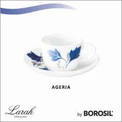 Borosil Flute Range 12 pcs Mug & Saucer Set