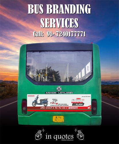Jctsl Low Floor Bus Advertising Service In Dcm Ajmer Road Jaipur In Quotes Media Solutions Id 17877578855