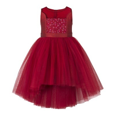 cf025ef5aa5d 70% Polyster And 30% Cotton Maroon Little Girls Dresses, Rs 549 ...