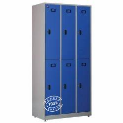 Metal Delite Kom Powder Coated Locker Cabinet, Warranty: 1 Year
