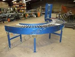 180 Degree Turn Roller Conveyor