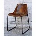 Vintage Salon Furniture - Leather Seat Chair