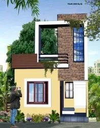 600 sq fit Row House, For Commercial
