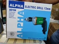 Alpha Electric Drill 13mm, Voltage: 220V