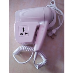 Hair Dryer With Shaver Socket