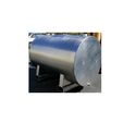 Stainless Steel Silver Industrial Storage Tank