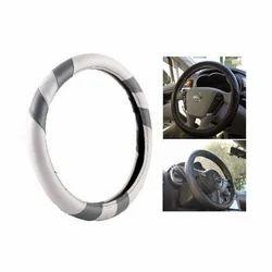 Grey Steering Wheel Cover