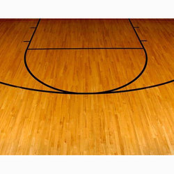 Basketball Court Wooden Flooring