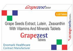 Grape Seed Extract, Lutein, Zeaxanthin with Vitamin And Minerals