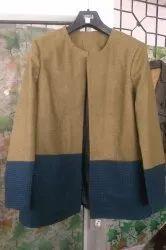 Full Sleeves Ladies wool coat