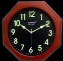 Full Night Glow Clock - Wooden