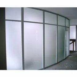 Aluminium and Glass Aluminium Glazed Office Partition