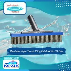 Aluminum Algae Brush With Stainless Steel Bristle