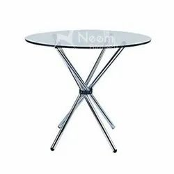 NF-180 Round SS Bar Table