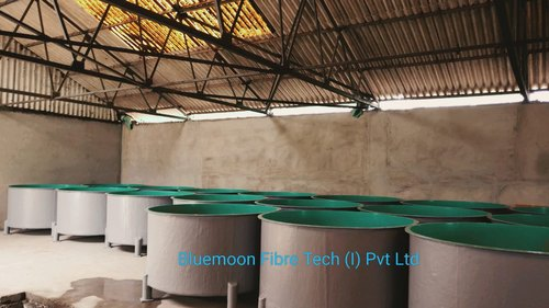 FRP Tank With Lid Top
