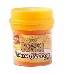 Lemon Yellow Food Color Powder