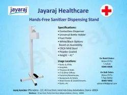 Hands-Free Sanitizer Dispenser Stand
