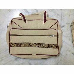 Jute Laptop Backpack Bag
