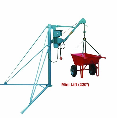 Mini Lift Crane Mini Lift Crane 220 Manufacturer From Coimbatore