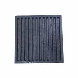 Black Generator Rubber Pad