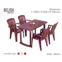 e0db607d27 Plastic Dining Table in Pune, प्लास्टिक डाइनिंग ...