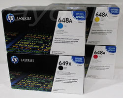 HP 648A Black Original LaserJet Toner Cartridge
