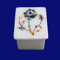 Marble Inlay & Decorative Stone Box
