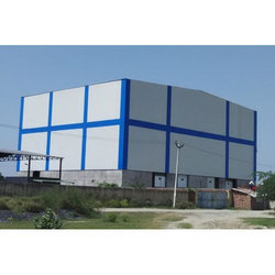 FRP,PVC and Steel Prefab Industrial Storage Shed