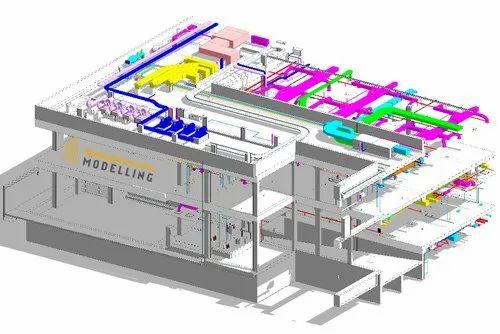MEP/HVAC BIM - Detailing, Drafting & Modeling Services in Thaltej